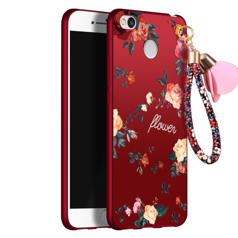 5 0inch For Xiaomi Redmi 4X Case Ultra Thin Flowers Painting Soft TPU Silicone Back Cover