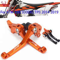For KTM 250EXC TPI 300EXC TPI EXC 2014 2015 2016 2017 2018 2019 CNC Motorcycle DirtBike Motocross Pivot Brake Clutch Levers