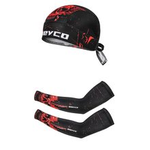 Manga de brazo Unisex, protección solar UV, sombrero de ciclismo, deportes de Bicicleta, correr, ciclismo, calentador de brazo