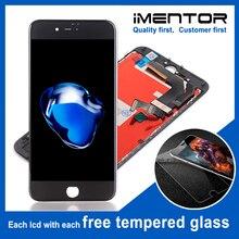 10pcs PROMOZIONE TIANMA A CRISTALLI LIQUIDI di trasporto libero per il iphone 7 display LCD touch screen e del rimontaggio di trasporto di vetro temperato 10pcs