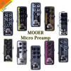 Mooer Micro Preamp Vintage Amplifier Simulator Guitar Effects Pedal Marshall MESA VOX Amplifier ToneKing AMP Simulator