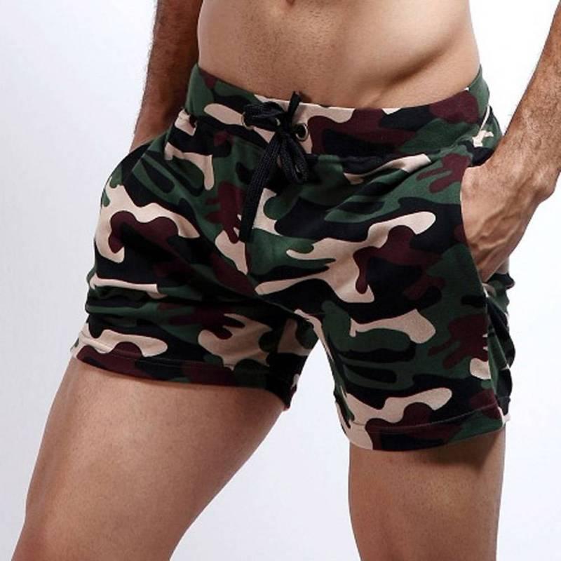 Beach Long Board Shorts Camo Boxer Sexy Men Shorts Man Camouflage Basic Short Pants Trunks Sporting Men