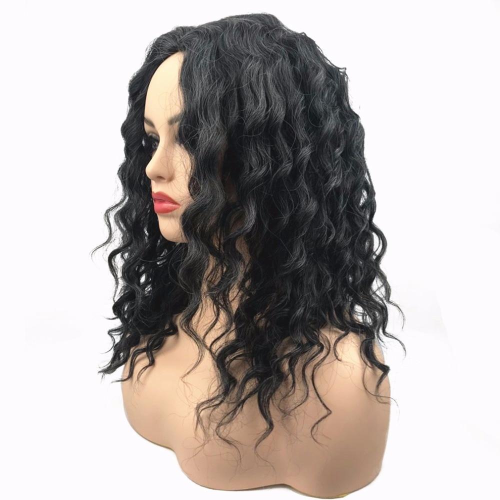 StrongBeauty Women's Parycken Auburn Mix Bob Short Straight Hair - Syntetiskt hår - Foto 2