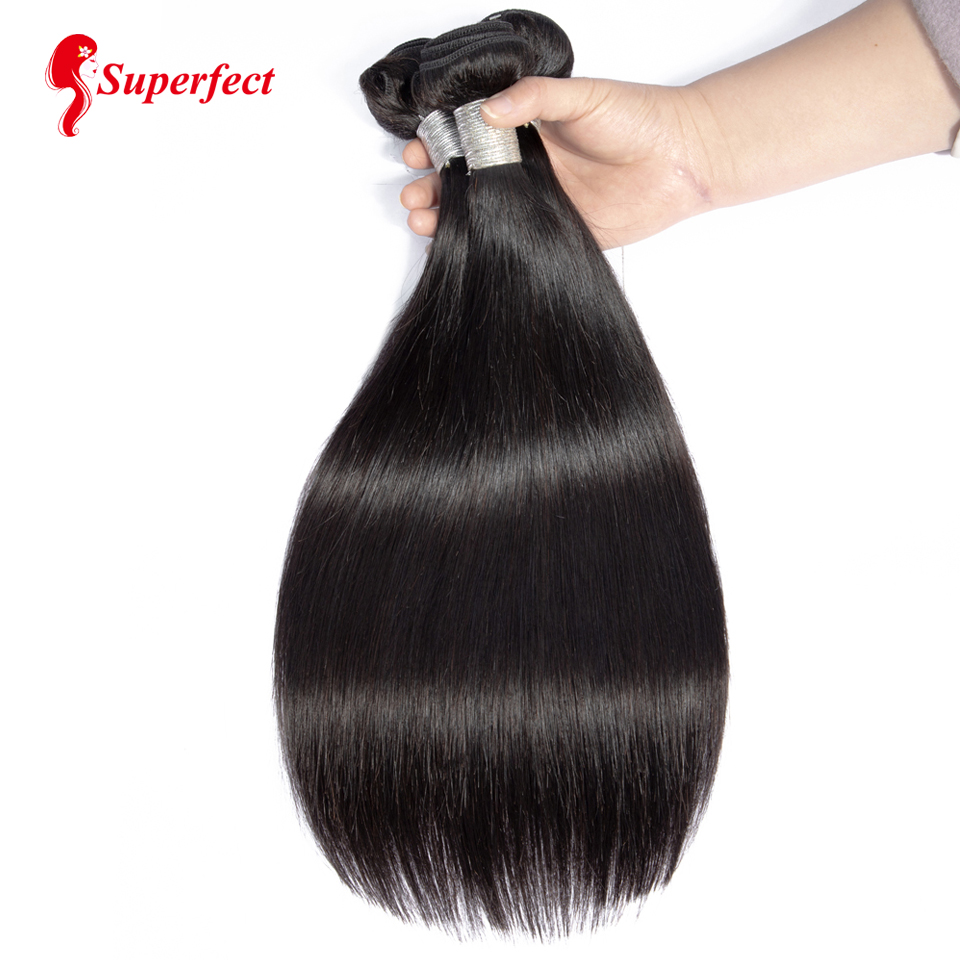Straight Hair Bundles Brazilian Hair Weave Bundles Human Hair Bundles 4 or 3 Bundles Non Remy