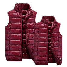 Couple new winter down cotton vest Korean Slim casual waistcoat middle-aged men and women big yards