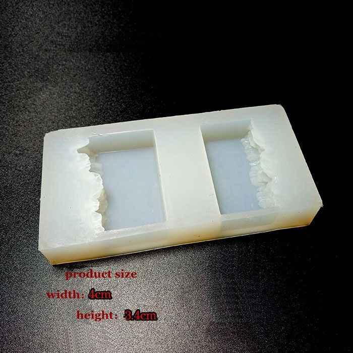 Новая прозрачная силиконовая форма сушеный цветок смолы декоративное ремесло DIY горный снег горный форма эпоксидная смола формы для ювелирных изделий