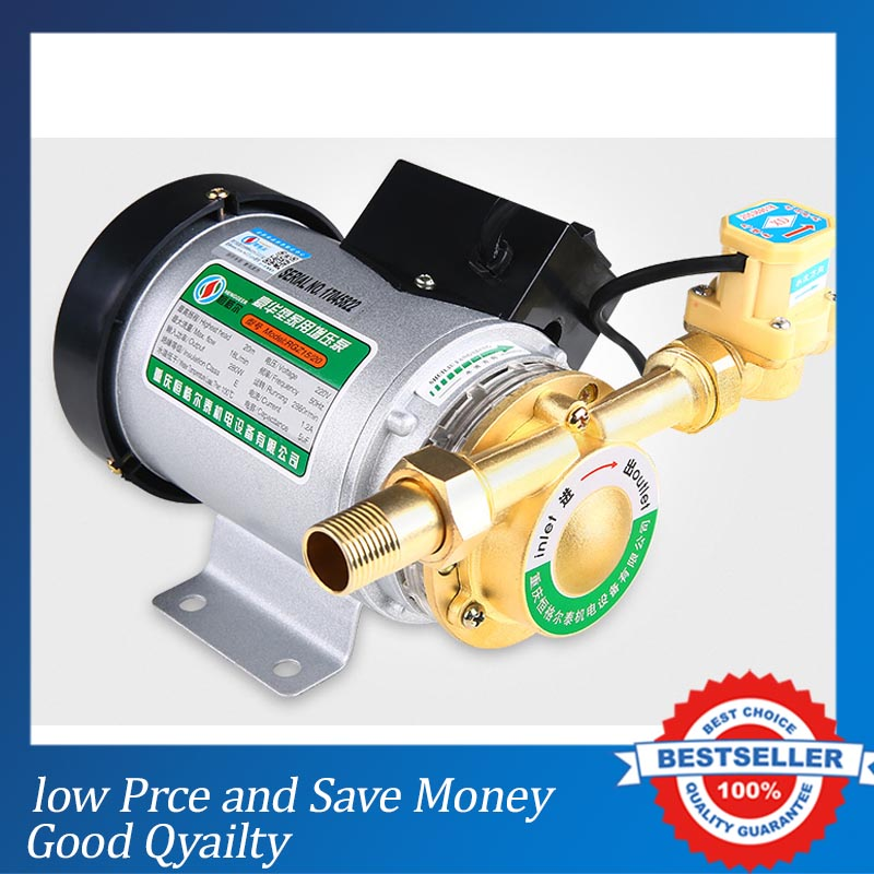 100W Mini Household Booster Water Pump Water Pressure Booster Pump Water Circulation Pressure Pump For Shower Heating