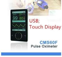 CONTEC CMS60F Touch Key Finger Pulse Oximeter Pc Software Alarm Review Clock Pulse Oximeter Finger Pulse