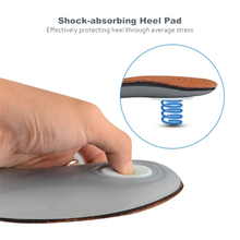 Orthopedic Insoles with Massage High Arch Supports for Flat Foot Inserts