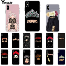Yinuoda Muslim Islamic Gril Eyes   Newly Arrived Cell Phone Case for Apple iPhone 8 7 6 6S Plus X XS MAX 5 5S SE XR Cover babaite muslim islamic gril eyes luxury hybrid phone case for iphone 8 7 6 6s plus x xs max 10 5 5s se xr coque shell