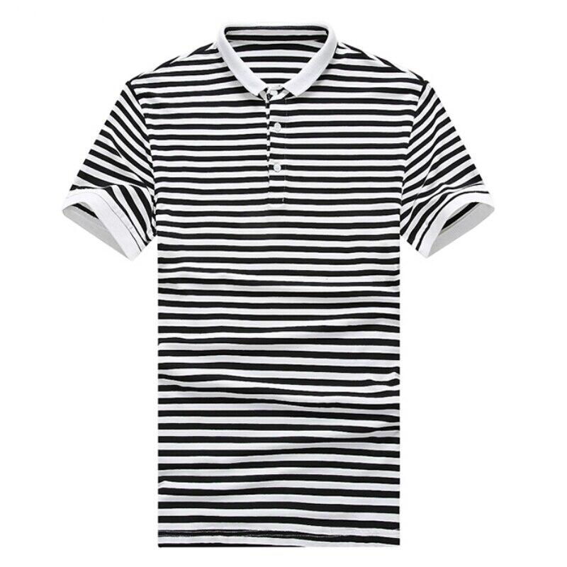 17877b820fb3d0 ᐃ2018 Nouvelle Marque De Mode Hommes de Polo Slim Fit À Manches ...