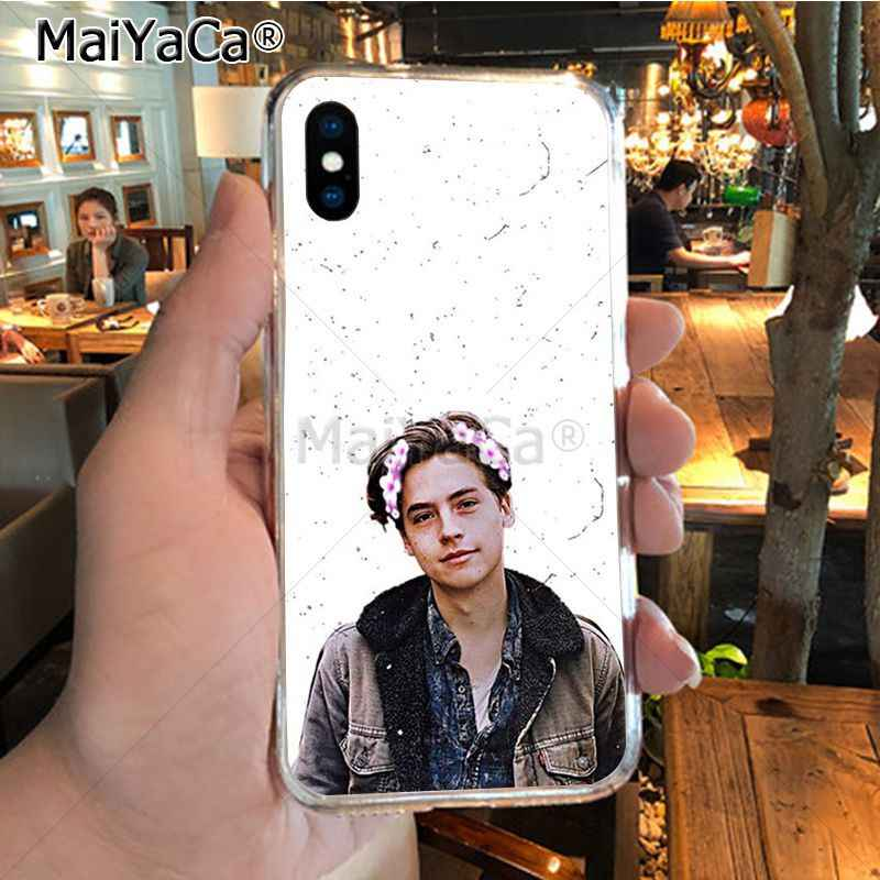 MaiYaCa Riverdale Series Cole Sprouse Special Offer Luxury Vertical phone case for iPhone X XS MAX XR 6S Plus 5S 7 8PLUS case