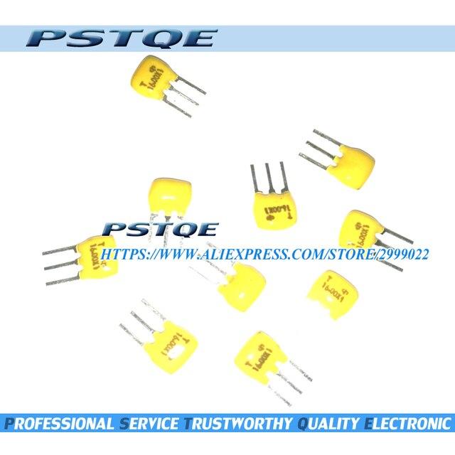 1000PCS Ceramic Resonators ZTT16.0MX 16MHZ 16.000MHZ