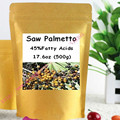 Saw Palmetto Extract 45% de Ácidos Graxos Em Pó 500 gram frete grátis