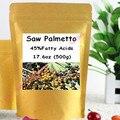 Saw Palmetto Extracto de 45% de Ácidos Grasos En Polvo 500 gram envío libre