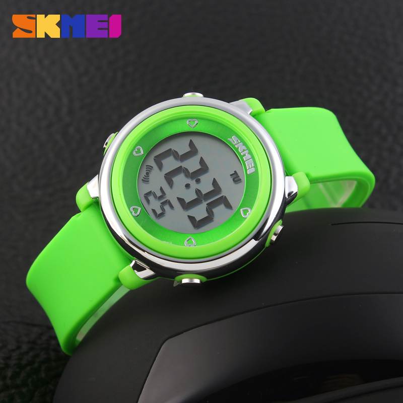 2016 SKMEI Children LED Digital Watch Relogio Feminino Sports Watches Kids Cartoon Jelly Relojes Mujer Waterproof Wristwatches