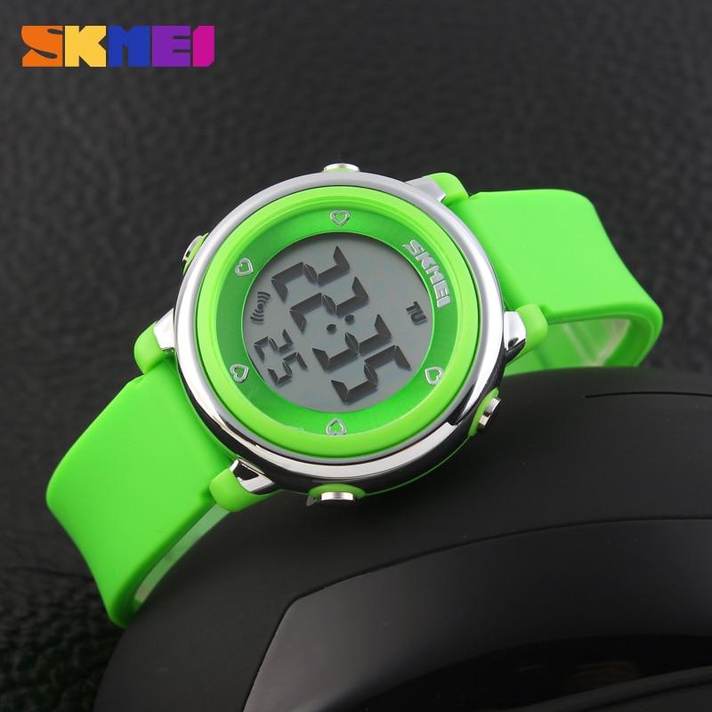 729888d1b27 2016 crianças led relógio digital de skmei esportes relógios crianças dos desenhos  animados da geléia relojes mujer relogio feminino relógios de pulso à ...