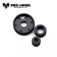 RM SCX 10 D FULL Metal Hydraulic transmission box wheel gear Wave Box Gear Replace AX 80010 R 4003