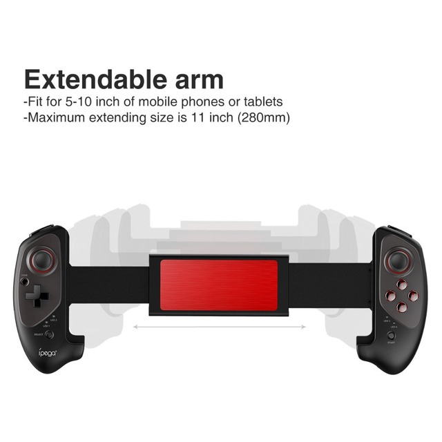 IPEGA PG-9083 PG 9083 Bluetooth 3.0 Wireless Gamepad Telescopic Game Controller for Android/ iOS Practical Stretch Joystick Pad