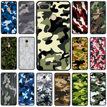 Army Camo Camouflage Pattern Silicone phone case for