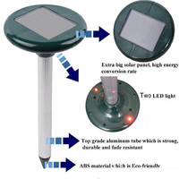 New Solar SNAKE Repeller Multi Pulse Plus Ultrasonic Pest Rodent Repellent Quote