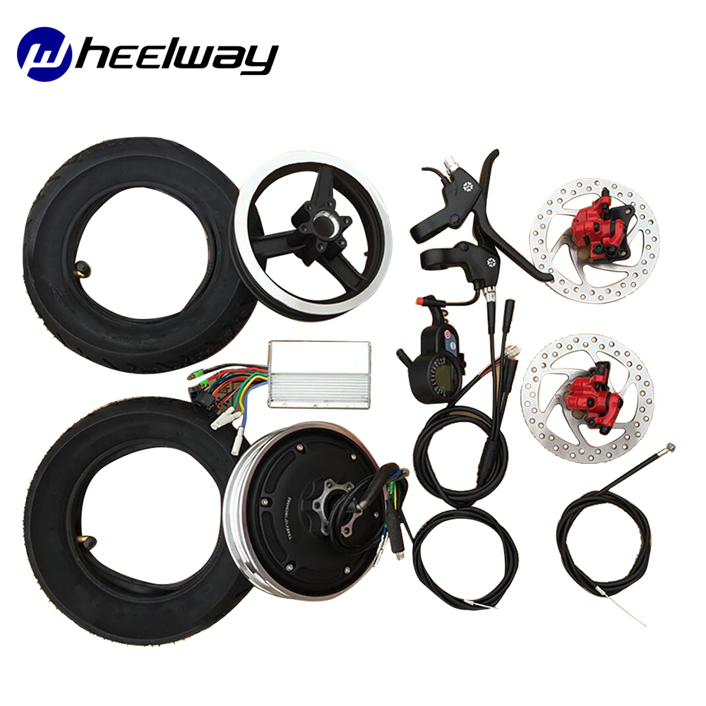 10 inch 36V 48V <font><b>electric</b></font> bicycle conversion kit <font><b>electric</b></font> wheelTX hub <font><b>motor</b></font> <font><b>wheel</b></font> <font><b>scooter</b></font> <font><b>motor</b></font> parts brushless <font><b>motor</b></font> high speed image