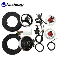 10 inch 36V 48V electric bicycle conversion kit electric wheelTX hub motor wheel scooter motor parts brushless motor high speed