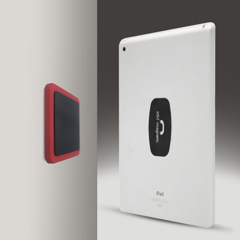 Wall Mount Tablet Magnetic Stand <font><b>Magnet</b></font> Adsorption Principle Convenience to pick-and-place Support All Tablets for iPad Pro Air