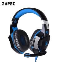 ZAPET G2000 Gaming Headphone Casque Best PC Computer Gamer Headset Stereo HIFI Deep Bass Headphones With