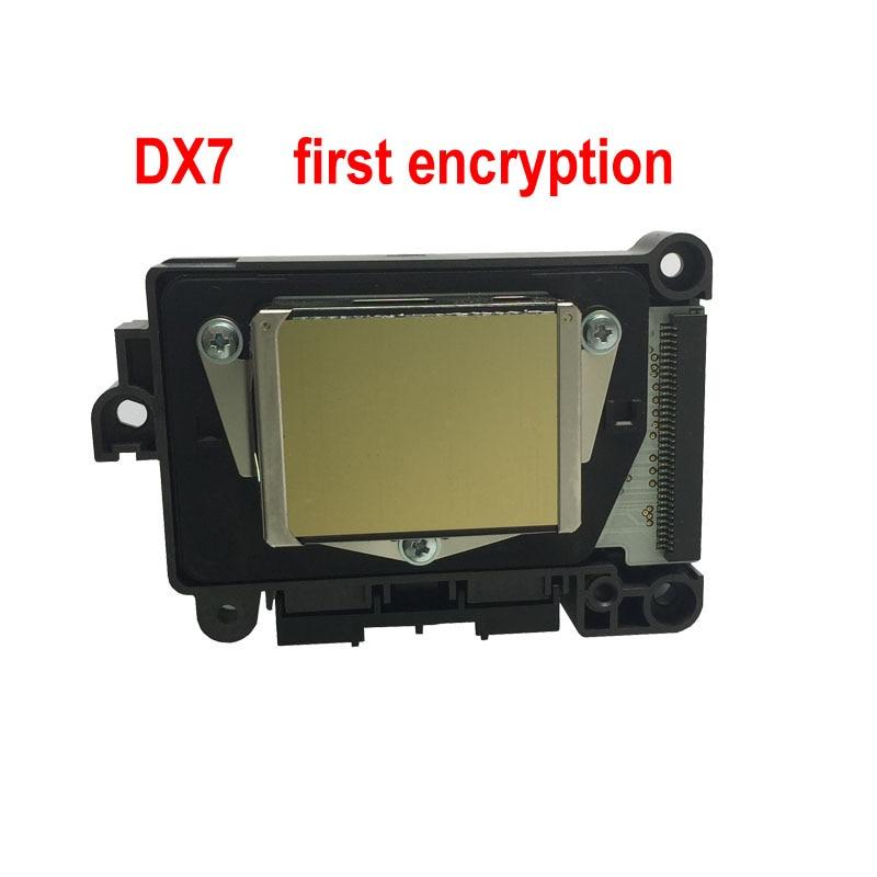 New and original (F189010) DX7 first encryption print head for EPSON B300 310 B500 510 B308 508 B318 518 R3000 printhead high quality original dx7 print head f189010 printhead first locked printer head