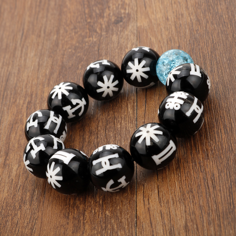 Black Panther KIMOYO Bracelet Beads Wakanda T Challa King Cosplay Jewelry  Women Men Props Crystal Bracelet Halloween Accessories-in Costume Props  from ... 595af04a14ba