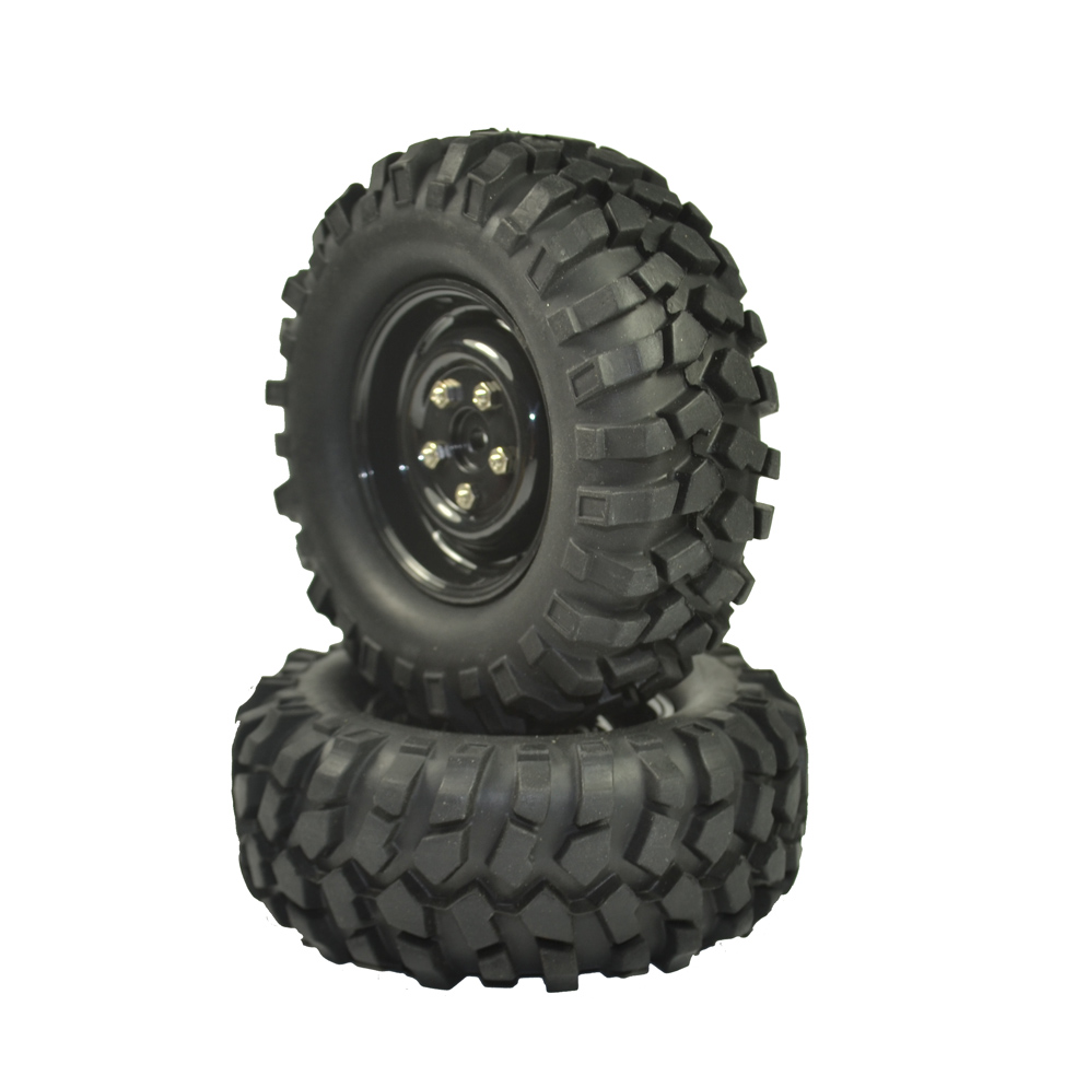 Image 3 - 4PCS 96mm Tyre RC 1/10 Off Road Car Beach Rock Crawler Tires Wheels Rim-in Parts & Accessories from Toys & Hobbies