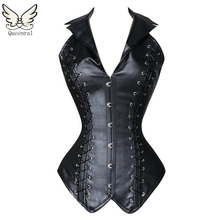 Leather steampunk gothic slimming corsets and bustiers