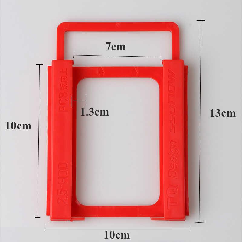 WEIJINTO Phổ Nhựa SATA IDE 2.5 Inch SSD HDD Để 3.5 Inch HDD SSD Trường Hợp Caddy Adapter Chủ Cho Máy Tính Để Bàn PC
