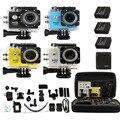 """Kebo Bag + W9 SJ6000 WIFI Estilo 2.0 """"1080 P HD Ir Esportes pro Camera Action Camera Car DVR Gravador de Vídeo como SJ4000 SJ5000 SJ6000"""