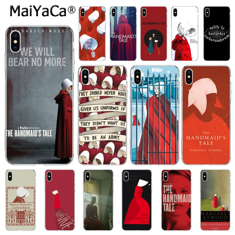 MaiYaCa The Handmaid Is Tale Phone Case For Iphone 11 Pro 11Pro MAX 6S 6plus 7 7plus 8 8Plus X Xs MAX 5 5S XR 10