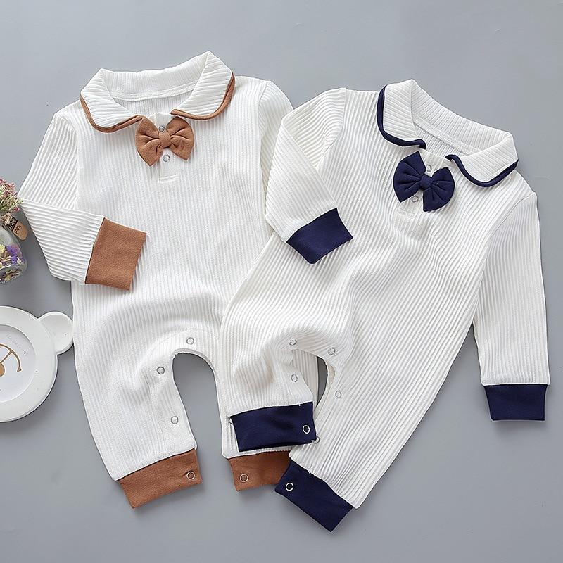 Herbst Winter Taufe Baby Jungen Kleidung Neugeborenen