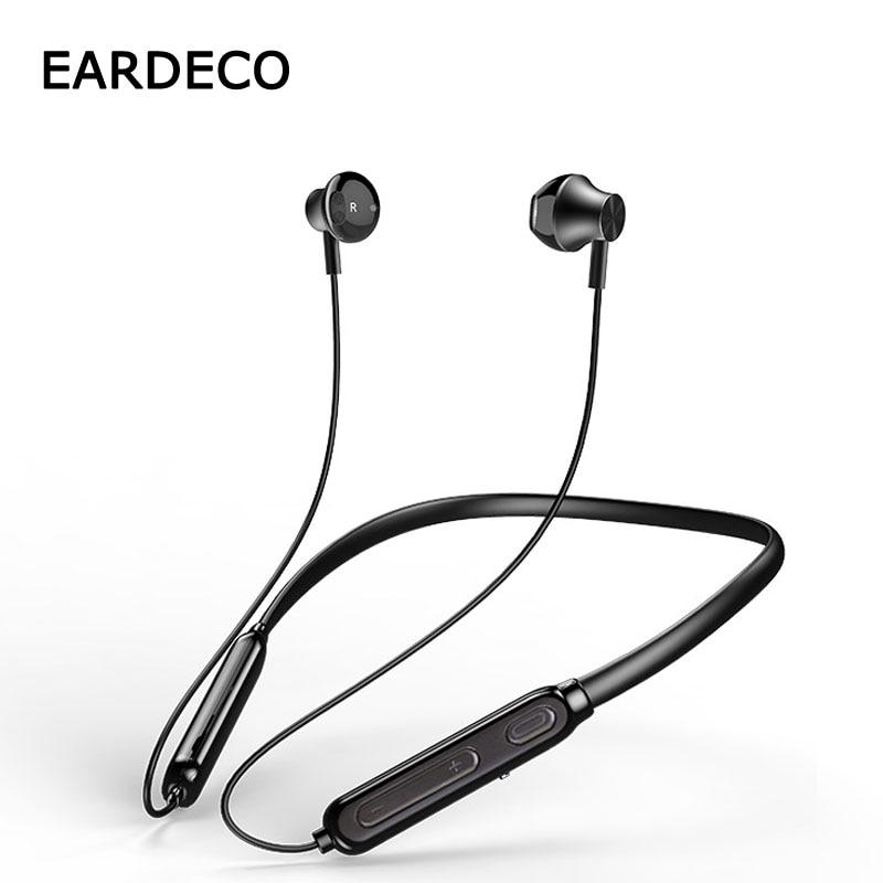 EARDECO Sports Wireless Earphones Bluetooth Earphone Headphone 4.2 Magnetic Adsorption Headphones for phone