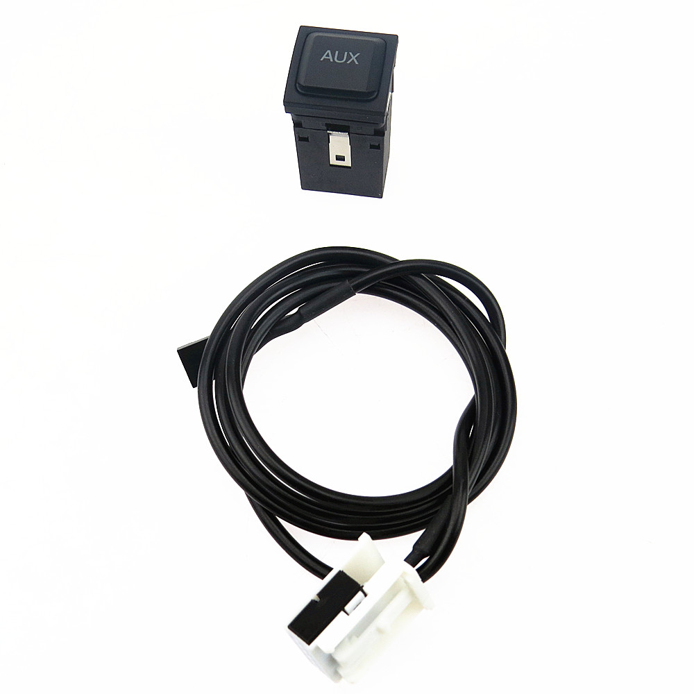 SCJYRXS AUX Switch Plug Adapter <font><b>USB</b></font> Connection Cable Harness For <font><b>Golf</b></font> MK5 MK6 <font><b>5</b></font> Scirocco Rabbit Lapin 5KD035724A 5KD 035 724 A image