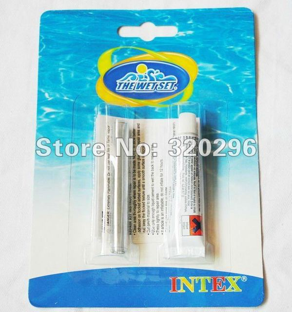 Intex Recreation 59632 Swimming Pool Vinyl Repair Kit /Repair Glue