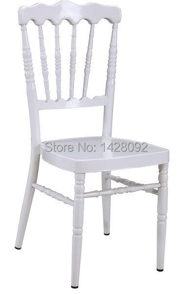Großhandel Qualität Starken Weißen Aluminium Napoleon Stuhl Mit