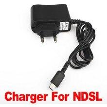 AC 100-240V 0.1A дорожный настенный ЕС штекер переходник с гнездом для зарядного устройства встроенная защита от обратной цепи для nintendo DS NDSL Lite