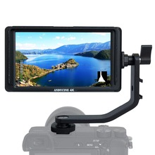 ANDYCINE A6Lite 5inch DSLR HDMI Camera Field Monitor 1920x1080 Video Peaking Focus assits Input Output DC output with Tilt Arm feelworld f5 5inch dslr on camera field monitor small full hd 1920x1080 ips video peaking focus assist with 4k hdmi and tilt arm