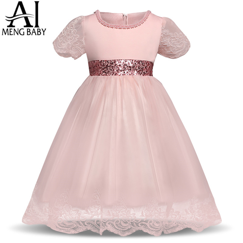Buy ai meng baby girl dress infant party for Toddler dress for wedding