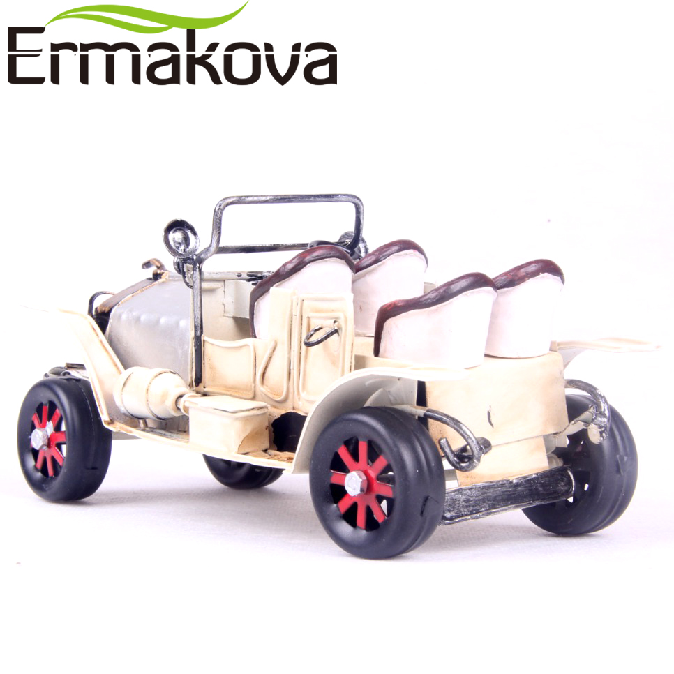 ERMAKOVA Metal Automobile Model Gran Torino Vintage Classic Open ...