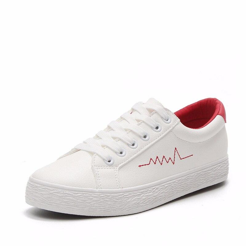 Couleur unie plat avec dames sauvages chaussures décontractées confortable léger étudiant chaussures plates adaptées à tous les sports femmes baskets