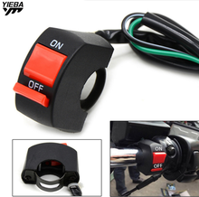 Universal Motorcycle Handlebar With ON/OFF Button Fog Light Switch for YAMAHA XJ6 N/XJ6 DIVERSION XSR 700 900 ABS TDM 900 MT-01 цена и фото