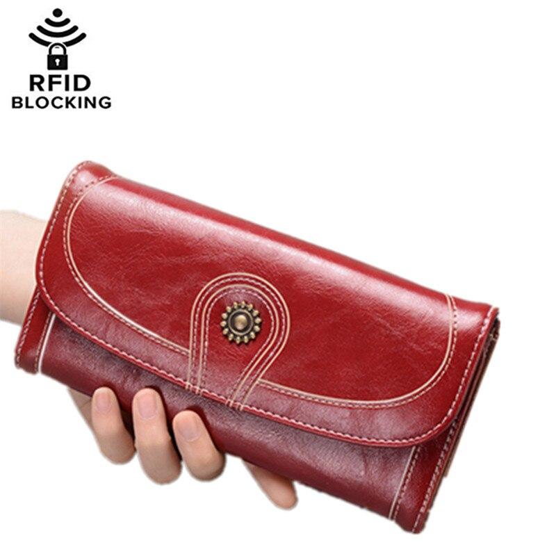 Women Purse Money-Bag Sunflower-Design Card-Holder Vintage Clearance-Sale Long Ladies