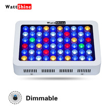 Dimmable Manual control 180W LED light Decorative fish tank Gradual change Underwater plants enriched Fish landscaping aquarium