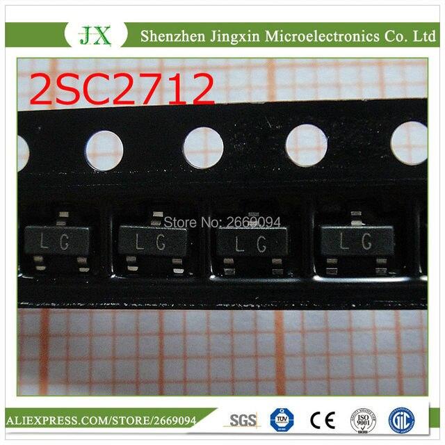 100 יחידות 2SC2712 Y 2SC2712 טרנזיסטור NPN 50 V 0.15A SOT 23